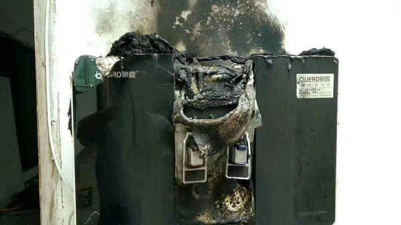 净水机着火了这叫我怎么维修