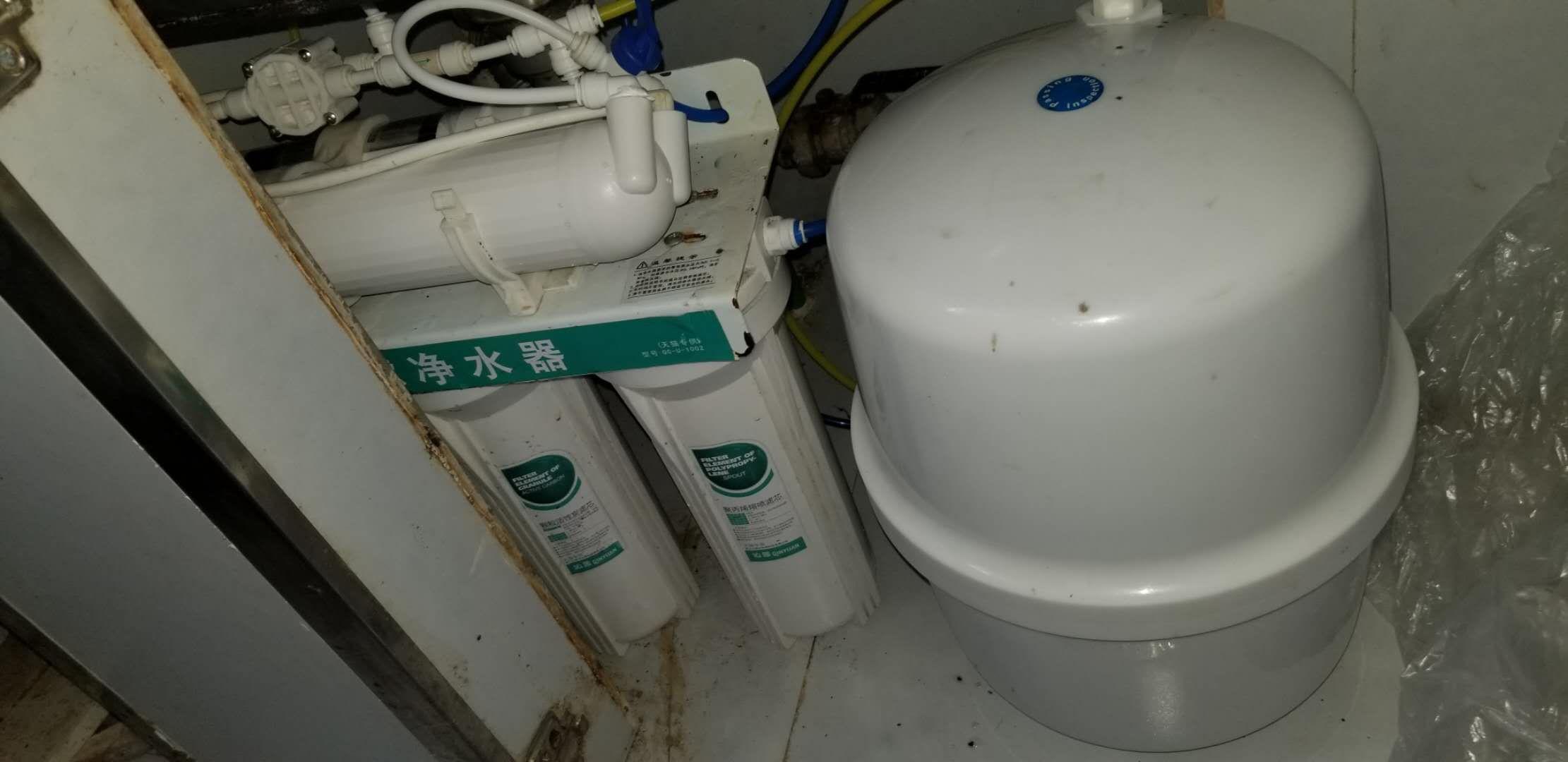 净水机维修之沁园超滤机改成反渗透机  净水机维修 沁园维修 第2张